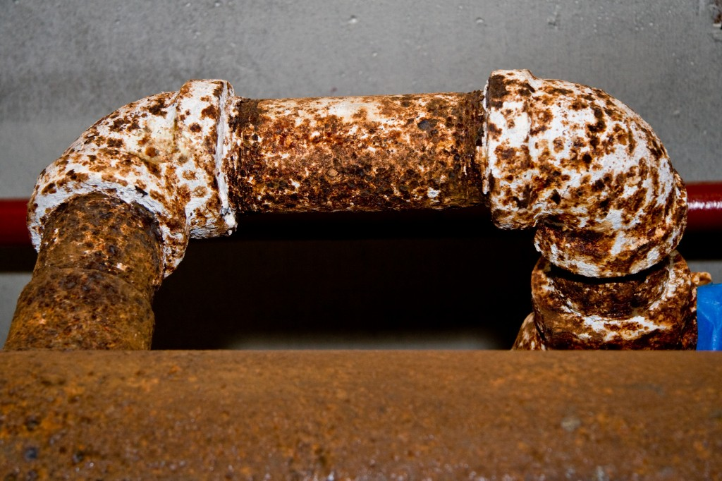 Rusted Cold Water Pipes 2