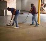Concrete Floor Coating Application