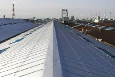 Painted Metal Roof - Rust Grip