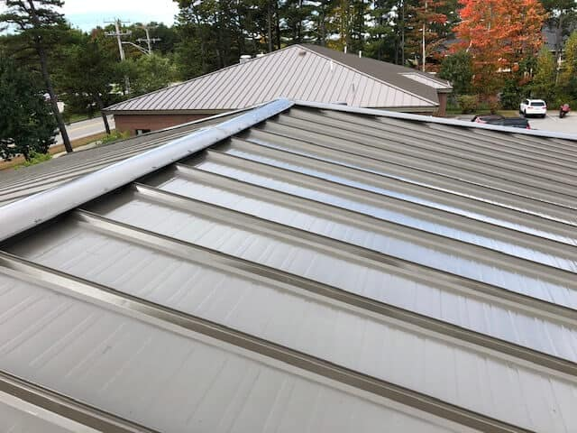 Metal Roof Application - After - Rust Grip and Enamo Grip Coatings